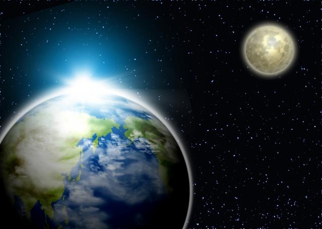 月と太陽は地球からどのくらい離れている?そんな雑学を特集!